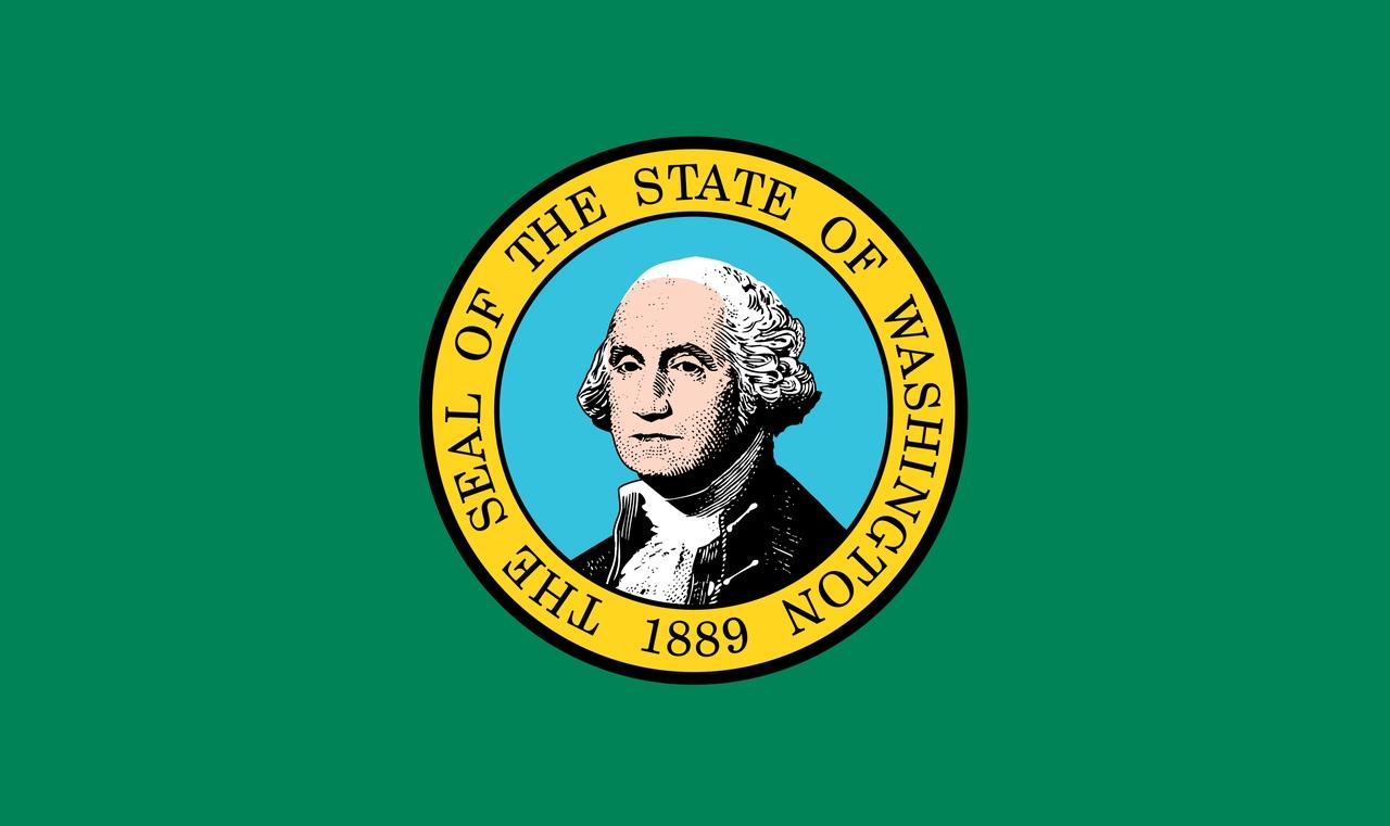 Флаг Вашингтон