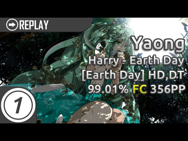 Yaong | Harry - Earth Day [Earth Day] HD,DT | 99.01% FC 356pp 1