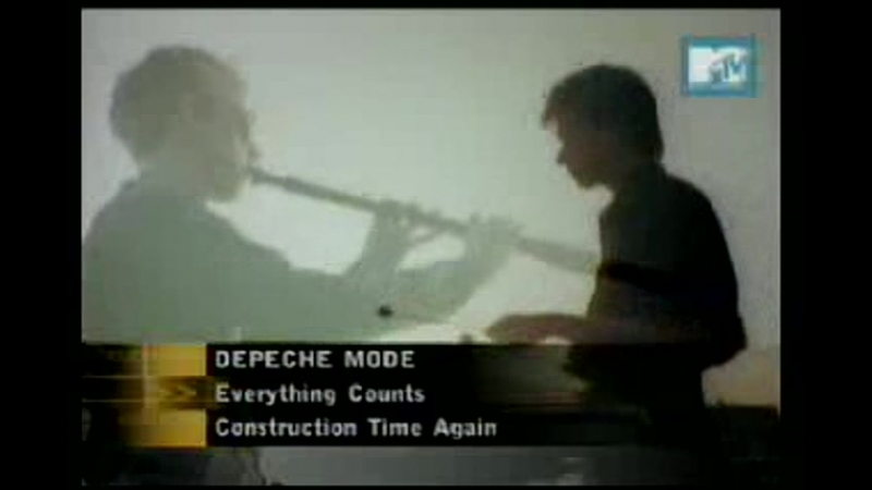 Depeche mode - everything counts mtv asia