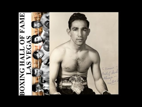 Willie Pep Gets Revenge vs Gil Cadilli - May 18, 1955