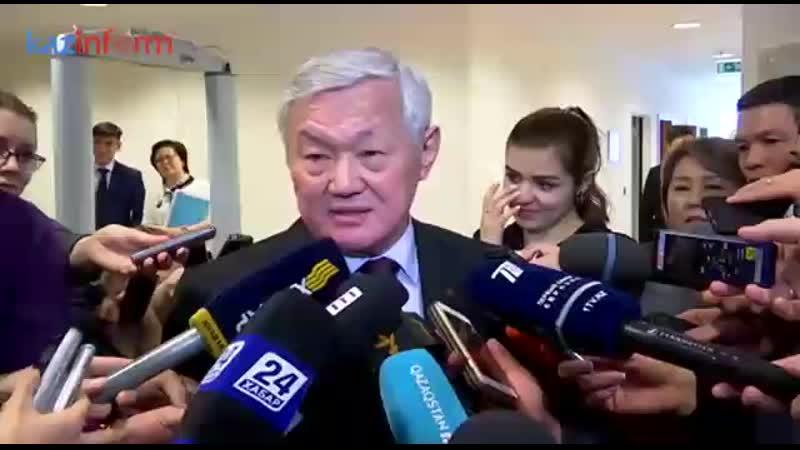 Бердібек Сапарбаев Əлеуметтік көмек туралы ақпарат берді