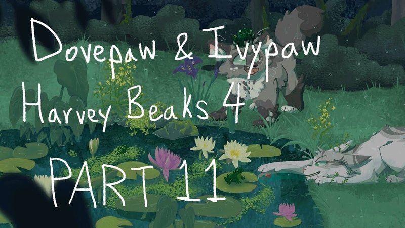 Harvey beaks 4 dovepaw/ivypaw map part 11