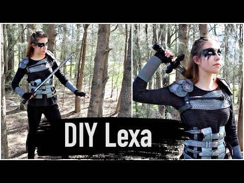 DIY Commander Lexa Costume The 100 Cosplay Tutorial Natasha Rose