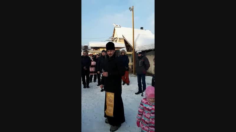 Молебен св Илиию Муромца и св Вонифатию