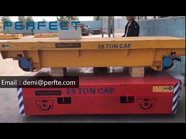 Remotecontrolbogie small AGV industrialtrolley handling cart