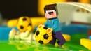 ФУТБОЛ ⚽️ Лего НУБик Майнкрафт Мультфильмы для Детей - LEGO Minecraft Мультики Анимация