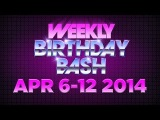 Celebrity Actor Birthdays - April 6-12, 2014 HD