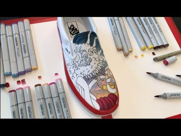 Rick and Morty - Custom Vans Timelapse