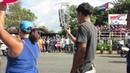 Первомайская демонстрация Варадеро (Куба) часть 5