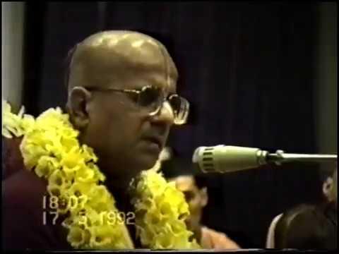 ЕС Гопал Кришна Госвами 1992.05.17