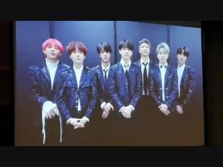 181213 BTS Message @ Seoul Foreign Correspondents' Club Award