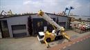 Кран Либхер Liebherr LTM 1055 грузоподъемностью до 55 тонн в работе.