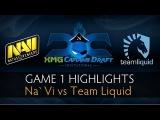 Dota 2 Na`Vi vs Team Liquid - Game 1 Highlights - The XMG Captains Draft Invitational