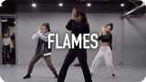 Flames - David Guetta &amp Sia Jin Lee Choreography