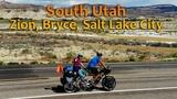 S01.E06 - South Utah, Zion, Bryce, Salt Lake City Tandem Bike touring in USA