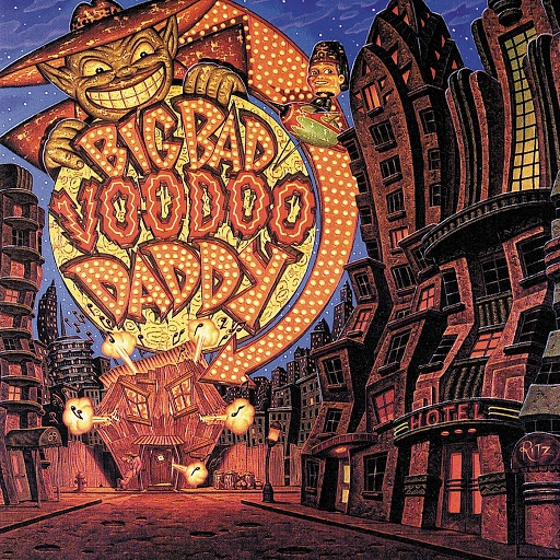 Big Bad Voodoo Daddy альбом Americana Deluxe