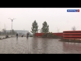 Губернатор Андрей Бочаров проинспектировал благоустройство зоны отдыха у Мамаева кургана