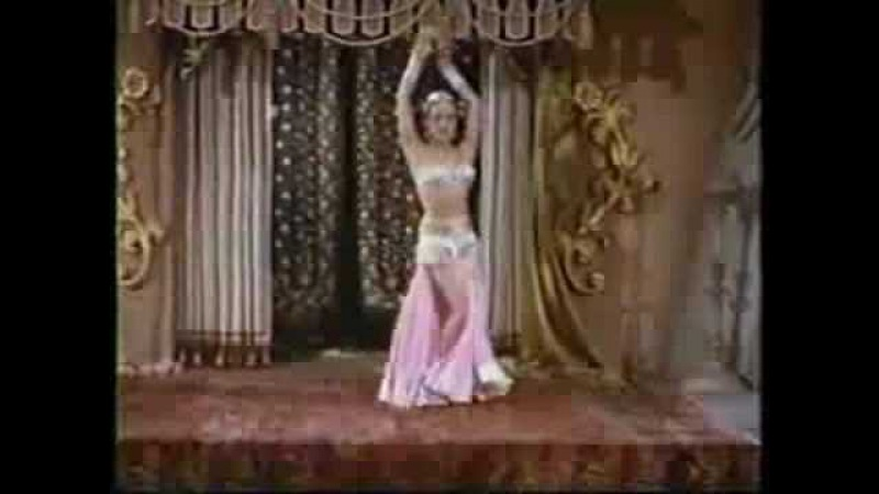 Turkish Belly Dancer ,Nejla Ates (Son of Sinbad ,1955)