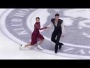 Annabelle MOROZOV Andrei BAGIN RUS Free Dance 2018 Golden Spin of Zagreb