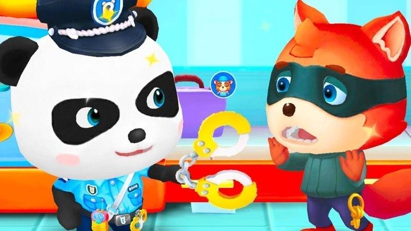Развивающие Мультфильмы Для Детей Полицейский Панда - Новые Мультики про Машинки Малыш Панда Серия 1