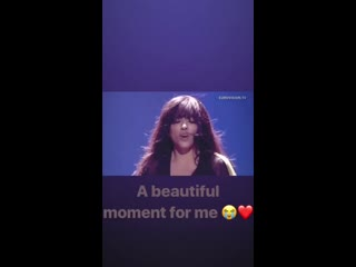 Loreen's Instagram - Post on March 28th, 2019