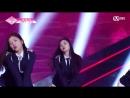 PRODUCE 48 1:1 eye contact | Ли Сиан (Stone Music) - AOA Short Hair Team 2 group battle