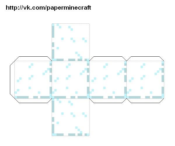 Поделки из бумаги из майнкрафт