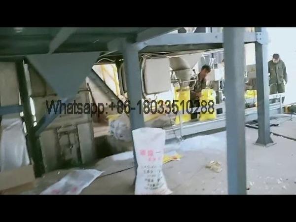 5~15t/h NPK water soluble fertilizer production line video