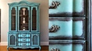 DIY China Cabinet Makeover W Annie Sloan Chalk Paint