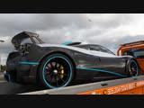 Pagani Huayra L'ULTIMO &amp Pagani Huayra Vulcan &amp Pagani Roadster Driving to Pegasus World Cup 2019