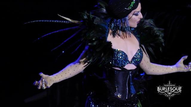 Toronto Burlesque Festival 2017 - Mondo Gonzo - Aria Delanoche