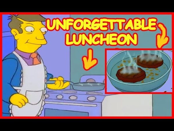 Simpsons steamed hams but skinner actually cooks patented burgers on the stove inc new scenes