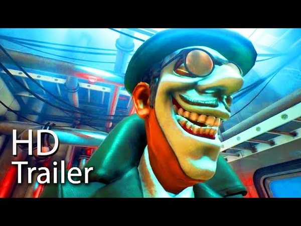 WE HAPPY FEW - New Gameplay Trailer 2018 (Always Be Cheerful) 60FPS PS4Xbox OnePC