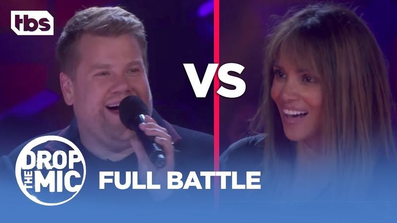 Drop the Mic: Halle Berry vs. James Corden - FULL BATTLE | TBS