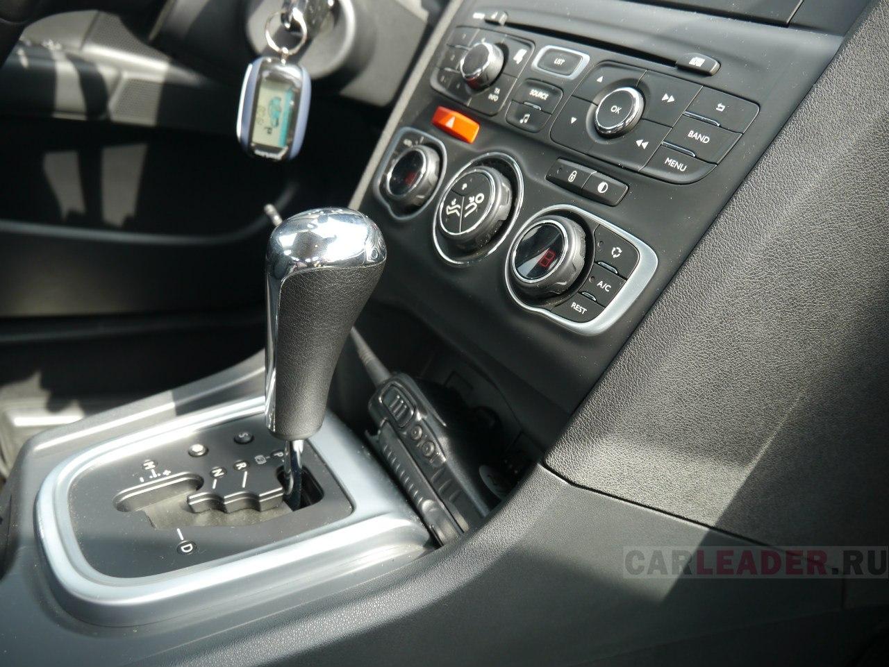 Автомат в Citroen C4 седан