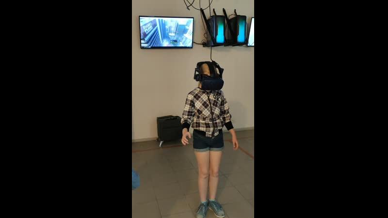 Летний лагерь смена иллюзионисты посещение клуба виртуальной реальности