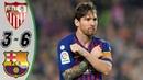 Sevilla vs Barcelona 3 6 Highlights Goals Resumen Goles Last Matches HD