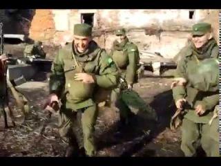 В российской армии танцуют лезгинку...