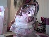 Распаковка коляски для куклы Bebi Born