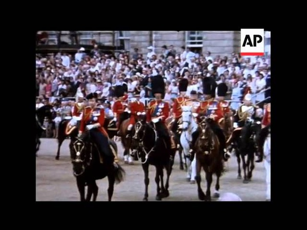 TROOPING THE COLOUR 1984 - SOUND - COLOUR