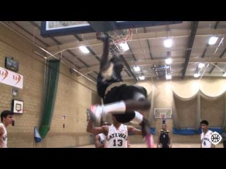 Joe Junior Mvuezolo (1996 born) is One of the Best Athletes in the Country! 6'4