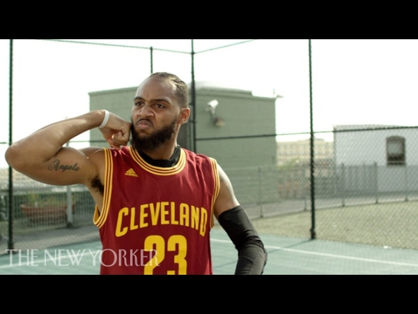 NBA Impersonator BdotAdot5 Perfectly Mimics LeBron, Curry, Westbrook Harden | The New Yorker