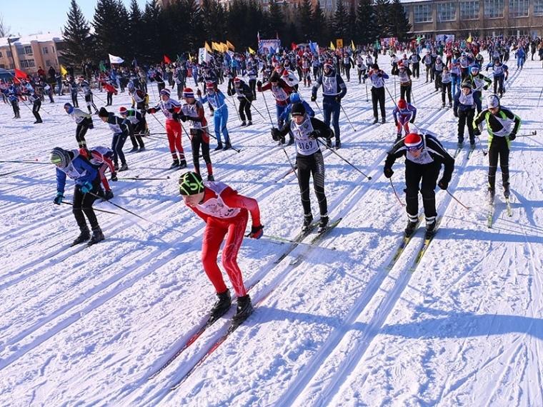 Сладонеж на Лыжне России
