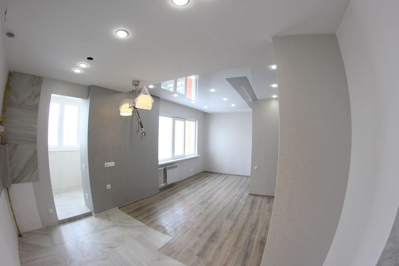 Ремонт в однокомнатной квартире по дизайн проекту