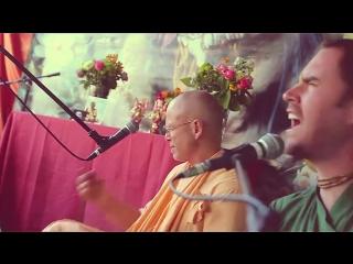 WAVES OF KIRTAN #21 __ BB Govinda Swami [with Akincana Krishna, Ojasvi Saci Su