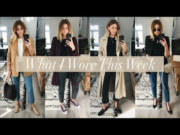What I Wore This Week | 8 Autumn Outfits