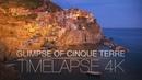 Glimpse of Cinque Terre - Timelapse 4K