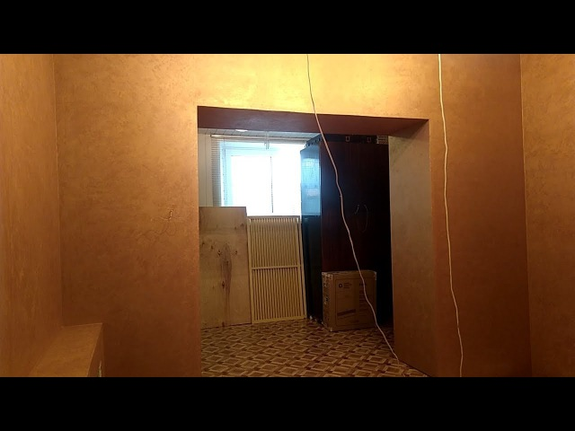 Бюджетный простой и быстрый способ отделки стен в квартире декоративным покрытием в один слой