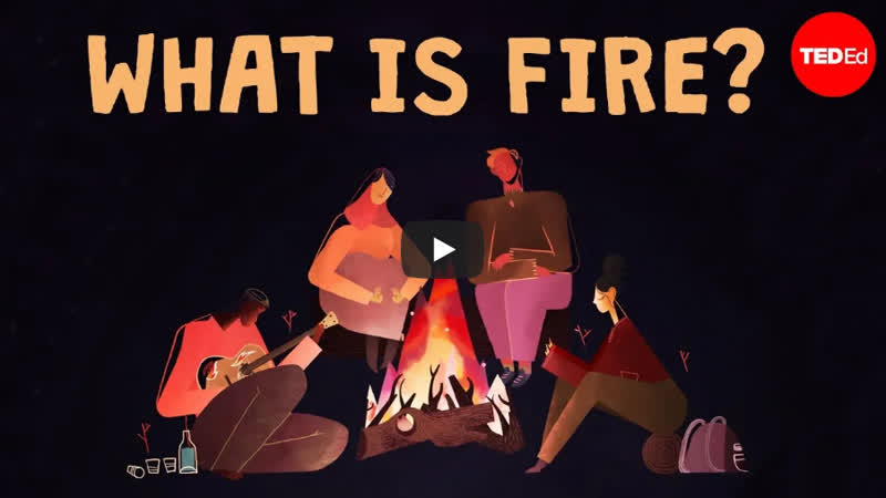 FIRE : Is it a solid, a liquid, or a gas? (eng sub)