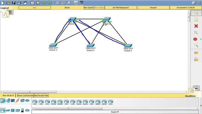 Компьютерные уроки/Уроки Cisco/ICND2 Урок 4 (Настройка STP)
